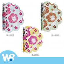 vacation series petal notepad oily ball pen combination