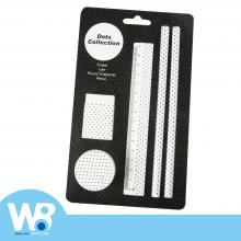 Dot Dot Stationery Set - White