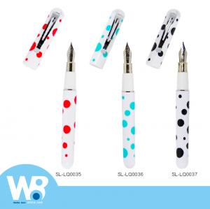 Dot Dot Hollow clip oily fountain pen